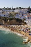 Carvoeiro Algarve Royalty Free Stock Photography