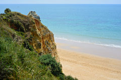 A view of a Praia da Rocha, Algarve Royalty Free Stock Images