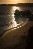 A view of a Praia da Rocha in Portimao, Algarve region, Portugal Royalty Free Stock Photography