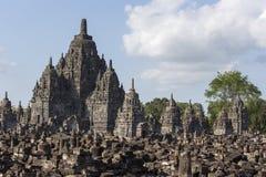 View of Prambanan temple Stock Photo