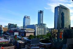 View of Pratunam area. Royalty Free Stock Image