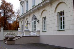 View of the Presidential Palace in Vilnius Stock Photo