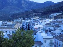 View of Priego-Cordoba stock image