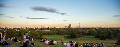 View from Primrose hill Royalty Free Stock Photos