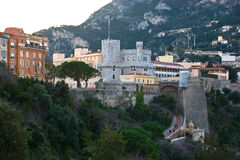 Prince's Palace of Monaco Royalty Free Stock Photo