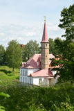 View of Priory Palace in Gatchina Stock Image