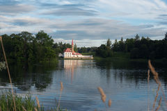 View of Priory Palace in Gatchina Stock Photo