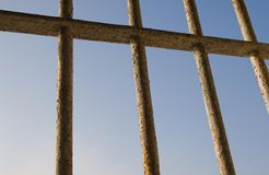 View from a prison Stock Photos