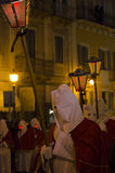 View of the procession oldest in Italy Stock Photography