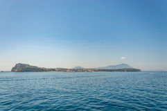 View of Procida Island Stock Photography