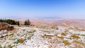 The View of the ` promised land` from Mount Nebo. View of the ` promised land` from Mount Nebo, Jordan Royalty Free Stock Photo