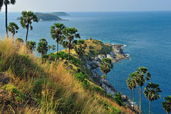 View of a Promthep cape. Phuket Stock Photos