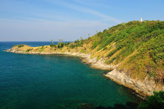 View of a Promthep cape. Phuket Royalty Free Stock Image