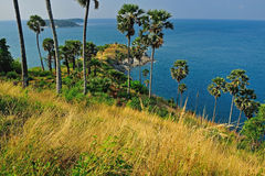 View of a Promthep cape. Phuket Stock Images
