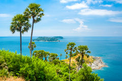 View from Promthep Cape in Phuket. Thailand Stock Image