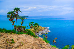 View of a Promthep,  Phuket island, Thailand Stock Photos