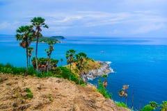 View of a Promthep,  Phuket island, Thailand Stock Photos