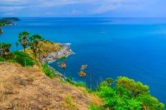 View of a Promthep,  Phuket island, Thailand Royalty Free Stock Photos