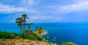 View of a Promthep,  Phuket island, Thailand Stock Image