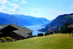View Property of Columbia River stock photography