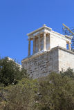 View of Propylaea of the Athenian Acropolis Royalty Free Stock Image