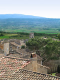 View in Provance. Rural view from Provence, France Stock Photos