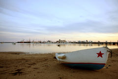 View at Provincetown bay Royalty Free Stock Photography