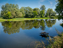 View of Psel River Stock Images