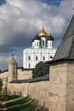 View of the Pskov Kremlin Stock Photography