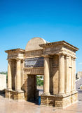 View of Puerta del Puente in Cordoba, Spain. Royalty Free Stock Photos