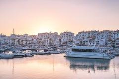 View of Puerto Banus, Spain Royalty Free Stock Photo