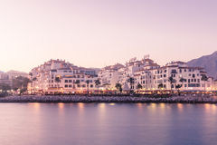 View of Puerto Banus, Spain Stock Photos