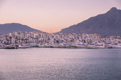 View of Puerto Banus, Spain Stock Images