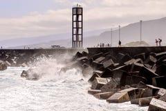 View on Puerto de la Cruz Royalty Free Stock Image