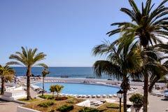 View on Puerto de la Cruz Stock Photos