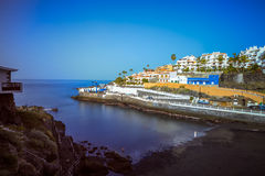 View of Puerto de Santiago on Island of Tenerife Stock Photography
