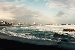 View of Puerto Duquesa. A view of Puerto Duquesa, Andalucia, Spain royalty free stock photos