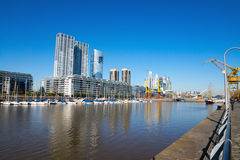 View of Puerto Madero Royalty Free Stock Photos