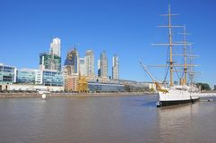 View of Puerto Madero, Buenos Aires. Stock Images