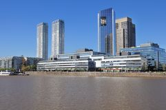 View of Puerto Madero, Buenos Aires. Stock Photography