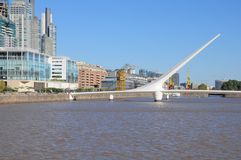 View of Puerto Madero. Stock Photos