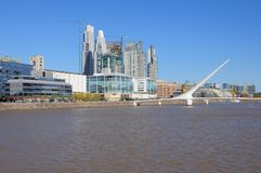 View of Puerto Madero, Buenos Aires. Stock Image