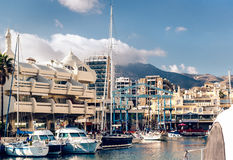 View of Puerto Marina Royalty Free Stock Image