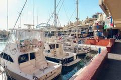 View of Puerto Marina Royalty Free Stock Photography
