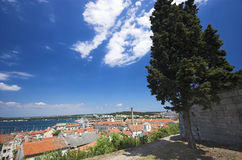 A view of Pula royalty free stock photography