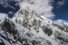 View of Pumori from Kala Patthar Royalty Free Stock Image