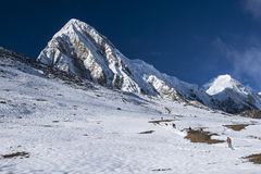 View of Pumori from Kala Patthar Royalty Free Stock Photo