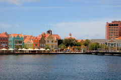 View on Punda, Wllemstad, Curacao Royalty Free Stock Photos