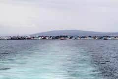 View of Punta Arenas, Chil. E stock photography
