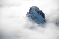 View from Punta Rocca, Marmolada. View to the north from Punta Rocca, Marmolada, Dolomites, Italy Stock Photography